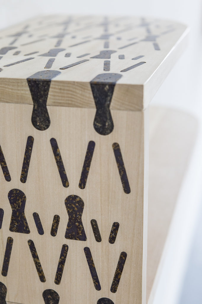 camille ravanel marqueterie étagère design ensad detail 9